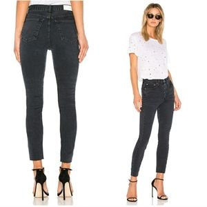 RE/DONE | Originals High Rise Ankle Crop Jean 28